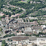 Purley from the air 2005, taken by Robert Warner