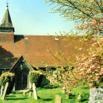 A view of All Saints Warlingham, taken by Grahame Brooks