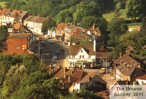 A view of Whyteleafe in 1992