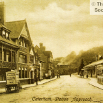 A view of The Railway Hotel, Caterham c1903, from the Roger Packham Collection