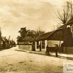 A view of High Street, Godstone, from the Roger Packham Collection