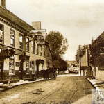 A view of the Bell Inn, Godstone c1905, from the Roger Packham Collection