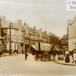 A view of Brighton Road Purley c1904, from the Roger Packham Collection