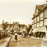 A view of Purley Road Purley c1905, from the Roger Packham Collection