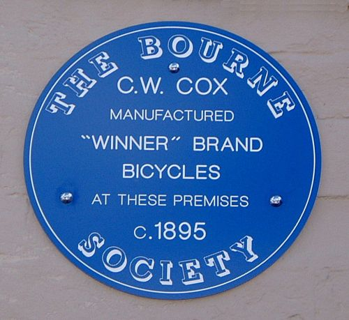 blue-plaque-19-cox-bicycles-caterham-hill